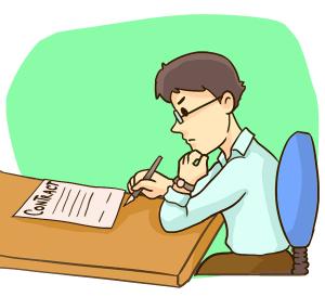 賃貸契約の確認