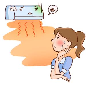 調子悪いエアコン