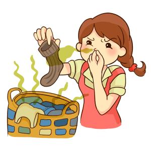 臭う洗濯物