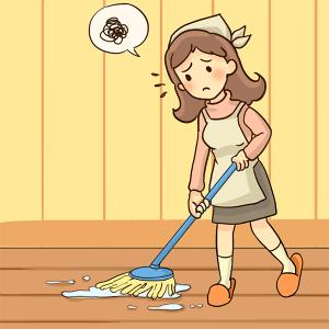 捗らない掃除