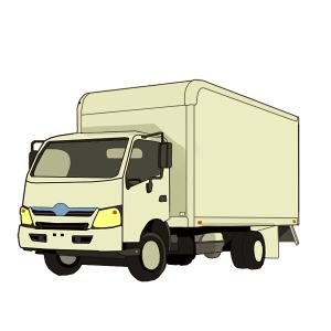 業者のトラック